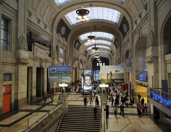 Milano Centrale, home of MyID into Italy