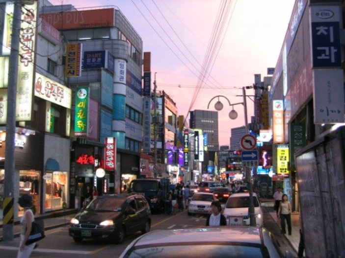 Made it to Apgujeong