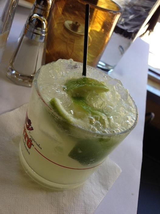 The sweet, limey indulgence known otherwise as caipirinha