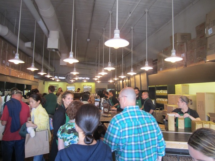 A look inside the first Starbucks today