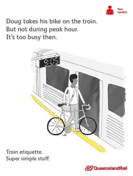 Queensland Rail Etiquette (Doug)