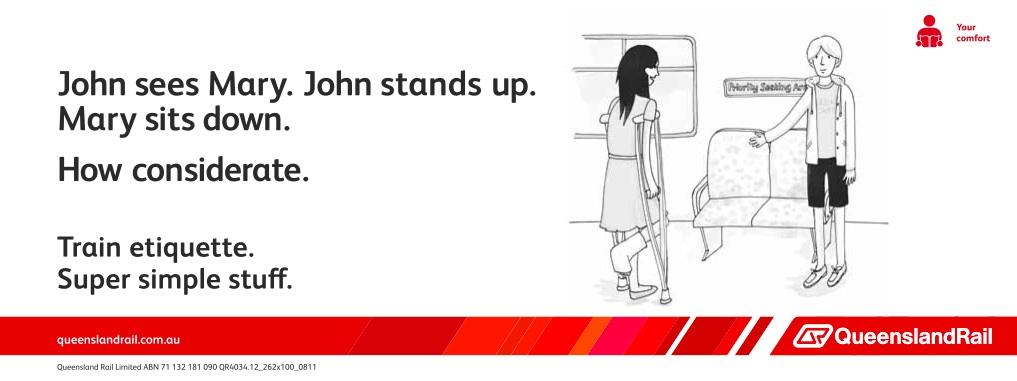 Queensland Rail Etiquette (John)