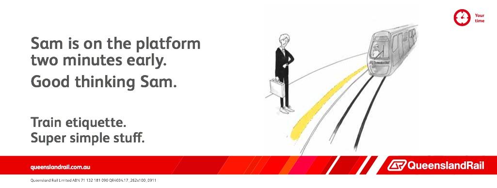 Queensland Rail Etiquette (Sam)