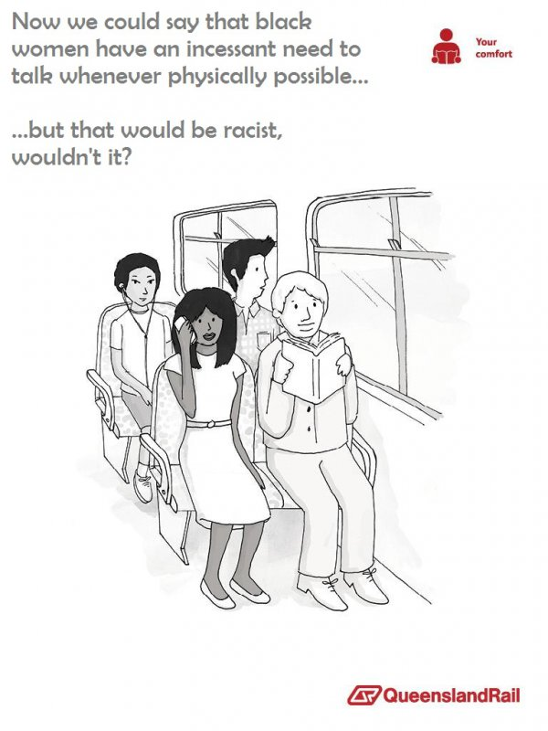 Queensland Rail Parody (Black Women)