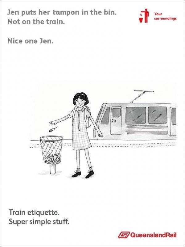 Queensland Rail Parody (Jen)