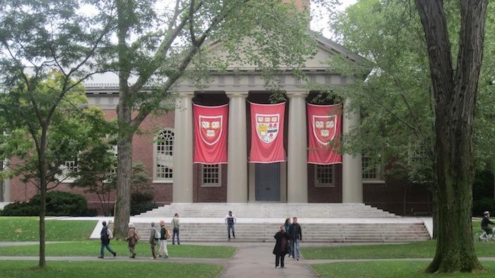 Harvard's hallowed halls